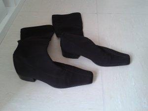 Braune elegante Schlüpf Stiefel