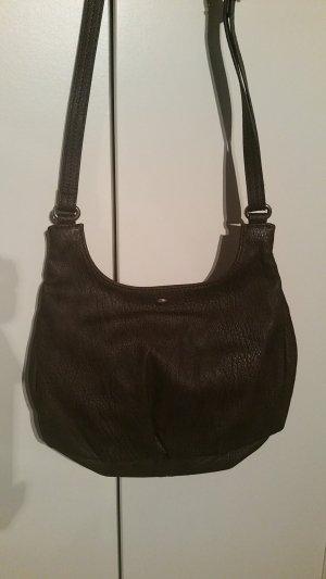 Braune ESPRIT Tasche + Anhänger