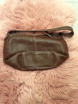 Braune Fossil Lederhandtasche