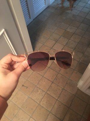 Braune/ Gold Dior Technologic inspirierte Sonnenbrille Neu