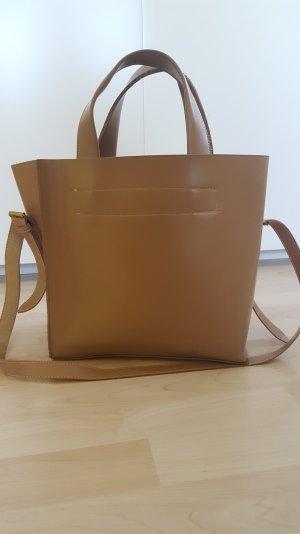 braune, große ZARA Tasche