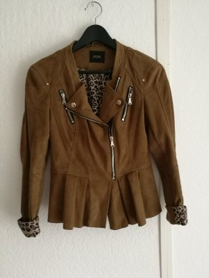 Guess Leather Jacket brown