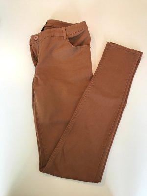 Braune H&M Skinny Größe 34