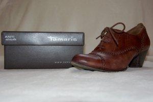 braune Halbschuhe/Absatzschuhe von Tamaris