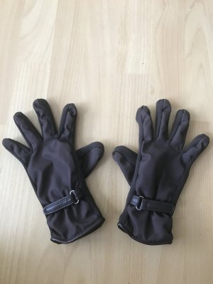 TCM Padded Gloves black brown