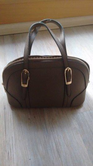 Braune Handtasche aus Echtleder