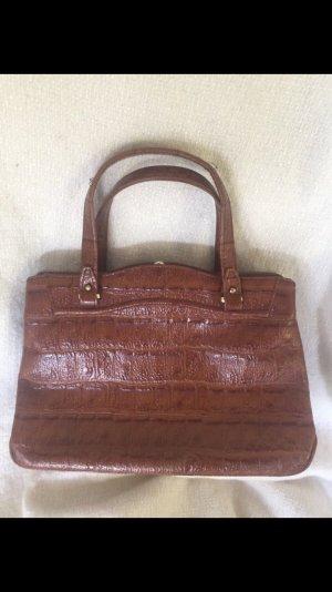 Vintage Handtas bruin-cognac