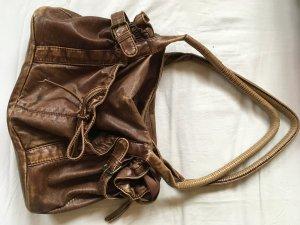 Braune Handtasche (mittelgroß)