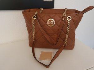 braune Handtasche von Michael Kors