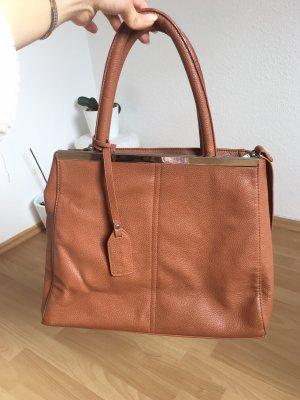 Orsay Borsa con manico marrone-cognac Finta pelle