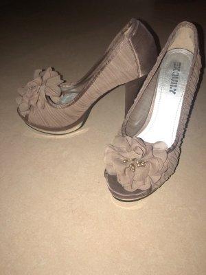 Braune High Heels Größe 35