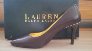 braune High Heels Pumps von Ralph Lauren