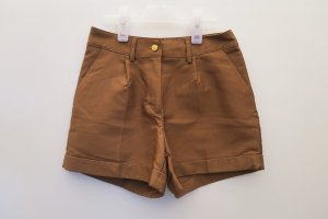 Braune highwaisted Shorts