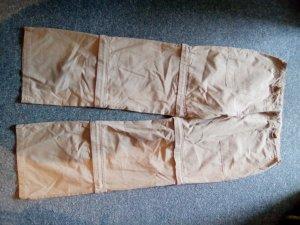 braune Hose - Mehrzweck - Hosenbeine abtrennbar - Jessica - Größe 44