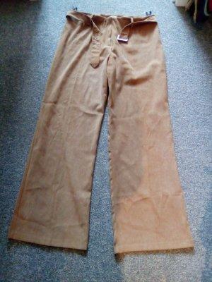 braune Hose mit Gürtel von CANDA - C&A - Größe 46