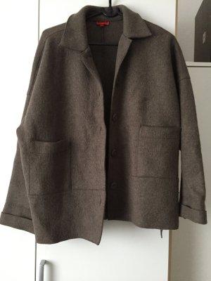 Braune Jacke 80% Wolle