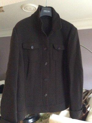 Braune Jacke aus Schurwolle