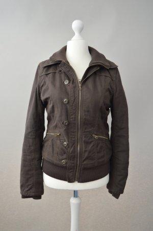 Braune Jacke Madonna Größe M gefüttert Winterjacke