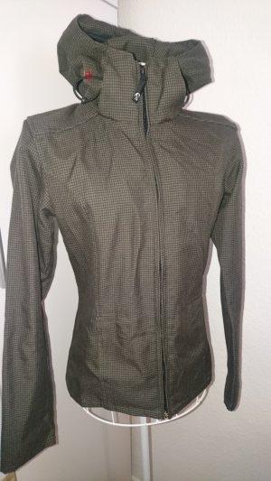 Braune Jacke von Iriedaily mit Kapuze