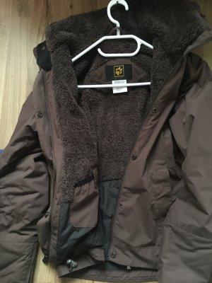 Braune Jacke von Jack Wolfskin