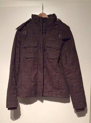 Braune Jacke von Plusminus in S