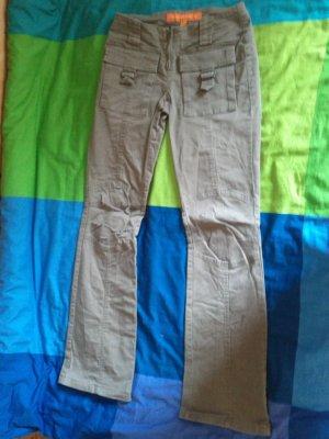 Braune Jeans Fishbone XS