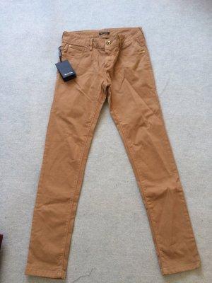 braune Jeans slim von Massimo Dutti - neu - Gr. 36