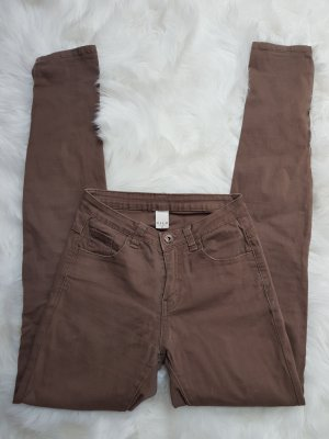 Vila Trousers light brown cotton