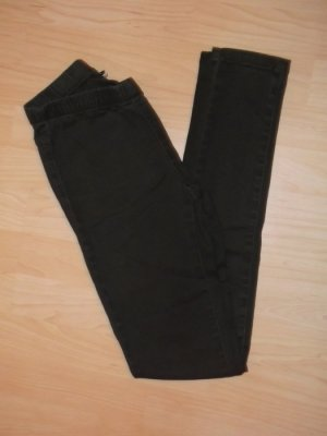 Pieces Jeggings marrone
