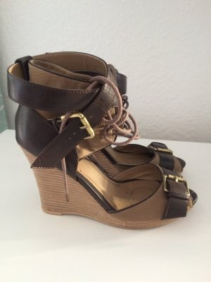 Sfera Wedge Sandals brown-light brown
