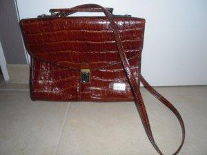 braune Krokoleder Tasche von Feliciani