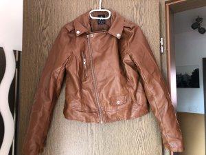 Atmosphere Leather Jacket brown