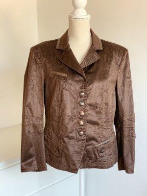 Braune kurze Jacke / Blazer von Biba