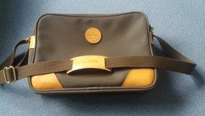 Braune Lancel-Tasche mit Lederecken