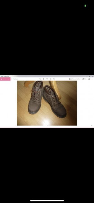 Timberland Lace Shoes brown leather