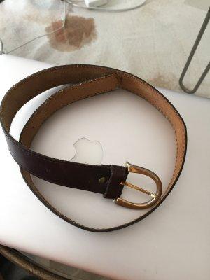 Braune Leder Gürtel, 8€