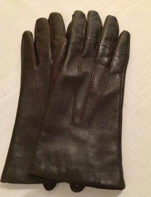 Braune Leder Handschuhe