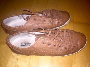 Braune Leder-Sneakers von Buffalo, Gr. 38, nur 2x getragen