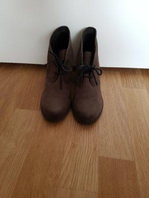Braune Leder Stiefeletten, Vagabond, 36