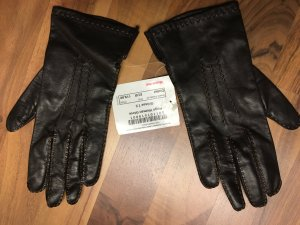 Hugo Boss Guantes marrón-negro