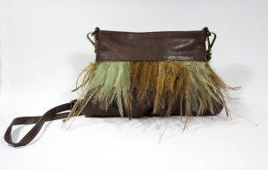 abro Shoulder Bag brown leather