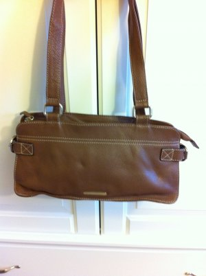 braune Lederhandtasche von Gerry Weber