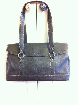 braune Lederhandtasche von PICARD