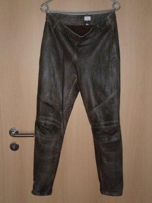 Alba Moda Five-Pocket Trousers brown leather