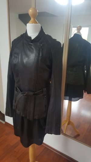 Braune Lederjacke von Oakwood