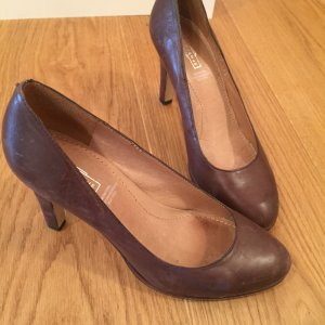 Braune Lederpumps von 5th Avenue