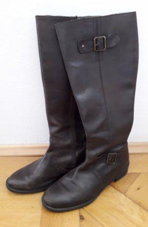 TCM Jackboots bronze-colored-dark brown leather