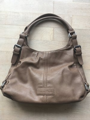 Fritzi aus preußen Carry Bag grey brown leather
