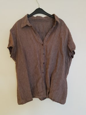 Peek & Cloppenburg Linen Blouse brown linen