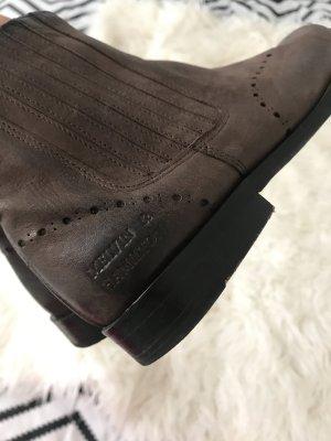 Braune Leser boots melvin&hamilton